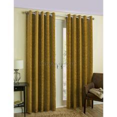 Màn cửa đơn khoen Miss Curtain 250x300cm (NG085-Dark Gold)