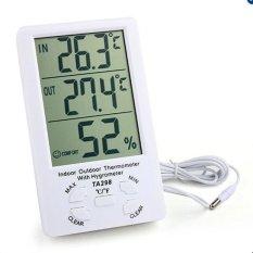 Màn hình đo nhiệt độ, độ ẩm trong nhà và ngoài trời TA298