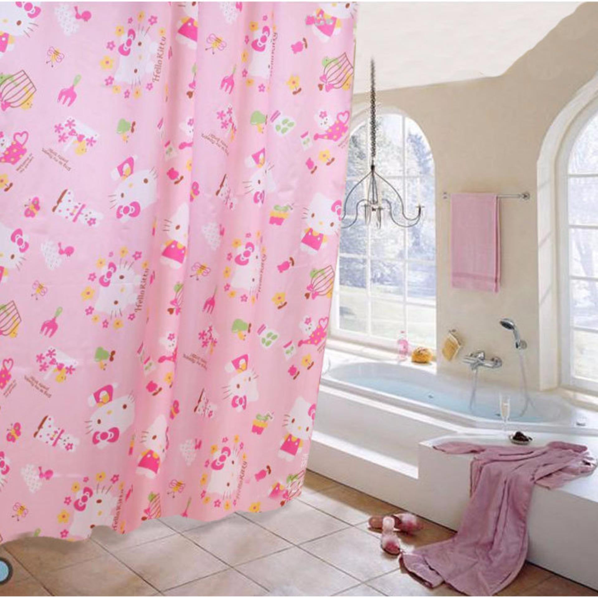 Cách mua màn treo nhà tắm satin 1m8x2m