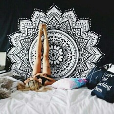 Mandala Tapestry Beach Throw Towel Wall Hanging Bohemian Yoga Mat( size:1 ) – intl