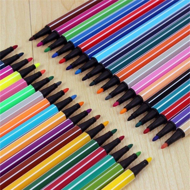 Mua Marker Set 18 Colors Mark Pen Water Color Pen Art Painting Pencils 18 - intl