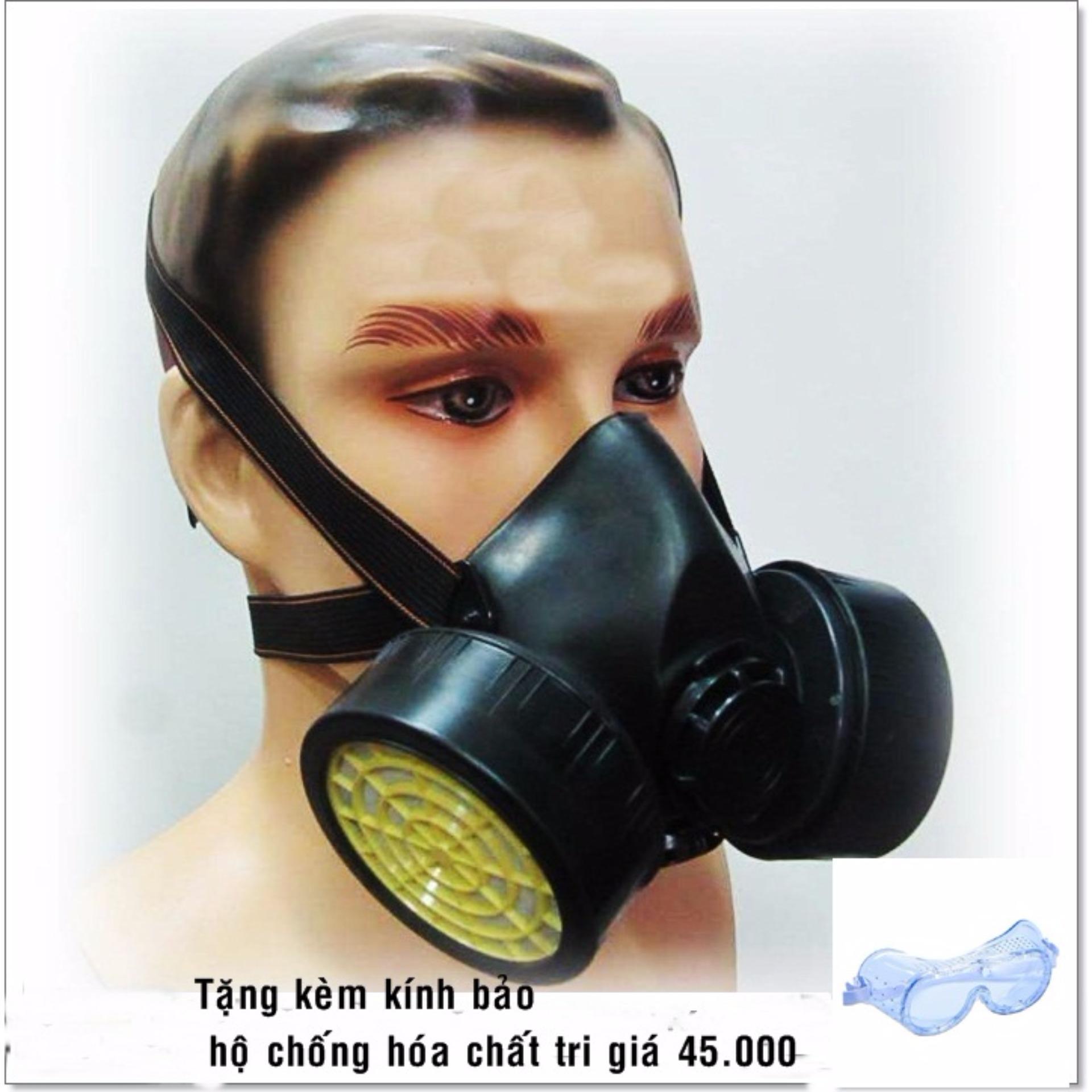 Chỗ nào bán Mặt nạ phòng độc 2 phin BB 306 + Tặng kèm 1 kính bảo hộ chống hóa chất