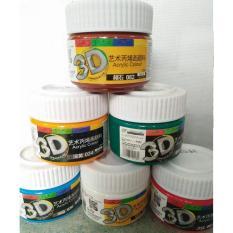 Màu Acrylic 3D 100ml – AA04 (Nhiều màu)