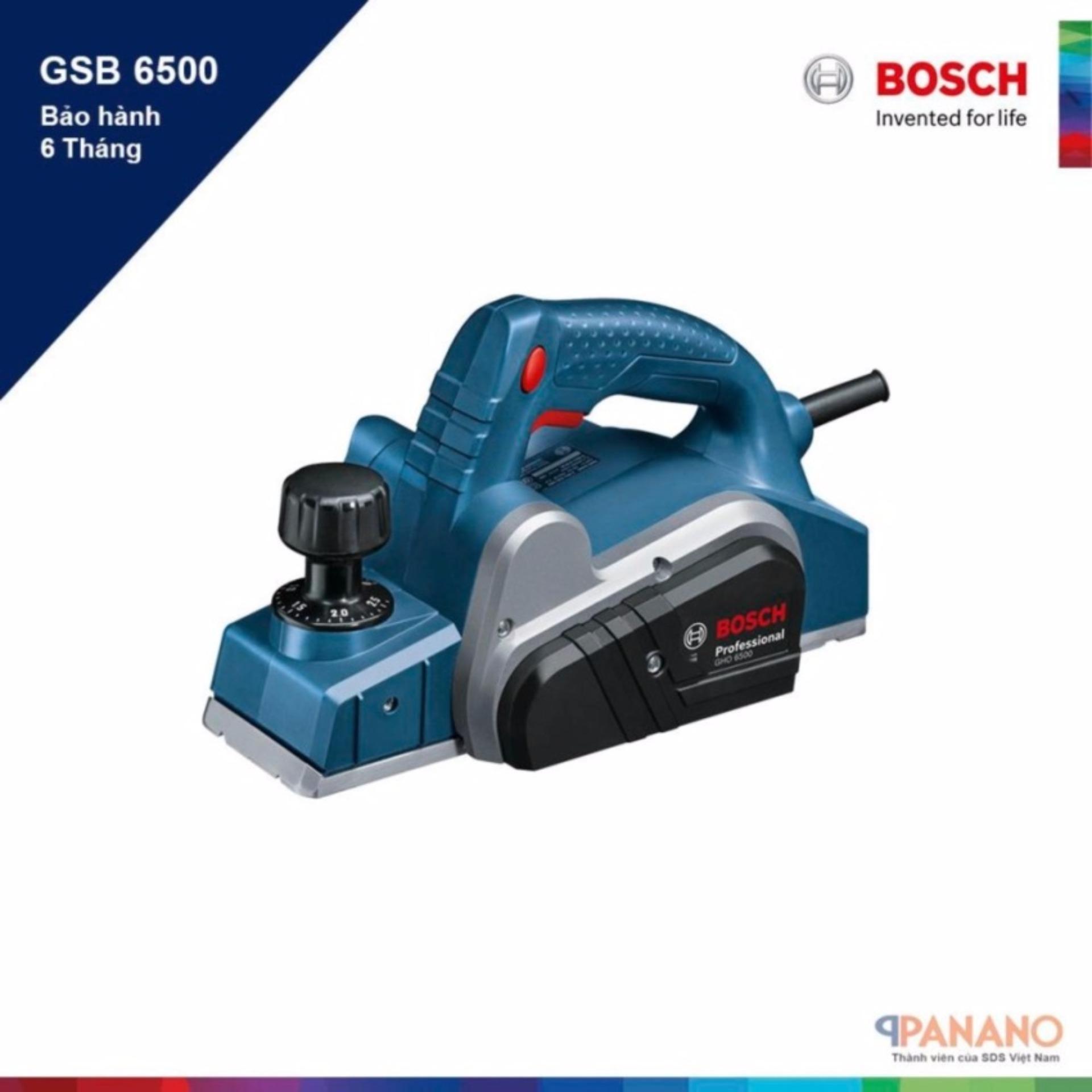 Máy bào Bosch GHO 6500 Professional (Xanh)
