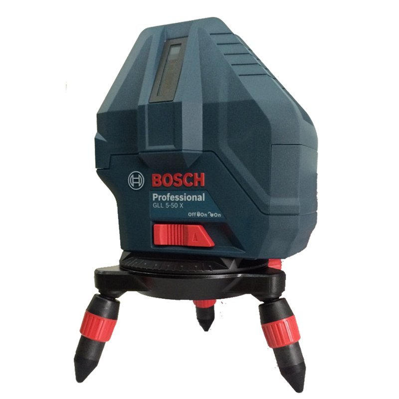 Máy cân bằng tia Laser độ sáng cao 4 tia dọc 1 tia ngang Bosch GLL5-50X
