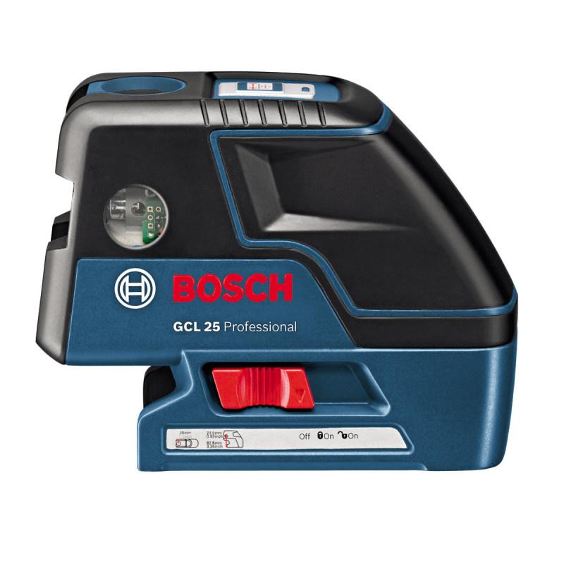 Máy cân điểm và tia Bosch GCL25 (Xanh)