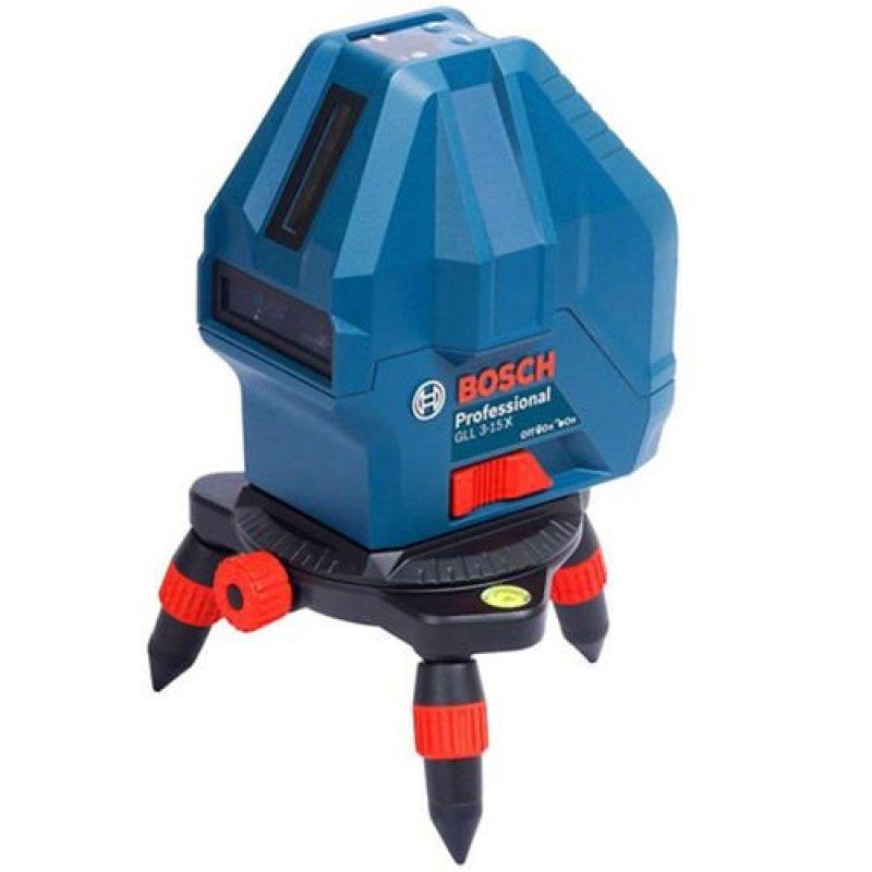 Máy cân mực Laser độ sáng cao 2 tia dọc, 1 tia ngang Bosch GLL3-15X