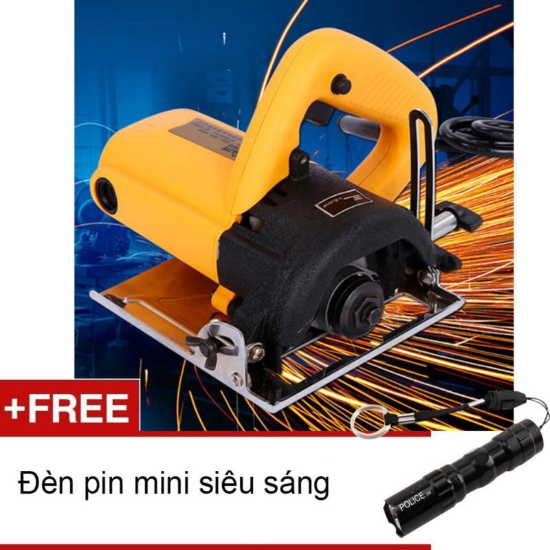 Máy cắt gạch đá 110mm BAILITE 41102 (Tặng đèn pin mini Zento)