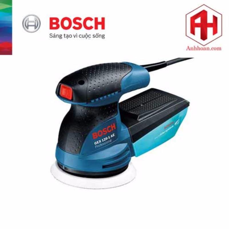 Máy chà nhám lệch tâm Bosch GEX 125-1 AE