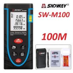 Máy đo khoảng cách bằng tia laser SNDWAY SW-M100 cự ly 100m RS-986B