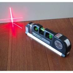 Thước Đo Bằng Laser 2 tia dọc – ngang PRO3, thước đo khoảng cách bằng laser/thước đo laser cầm tay giá rẻ – thước nivo laser PRO 3 (Đen) +Tặng đầu vòi lọc nước