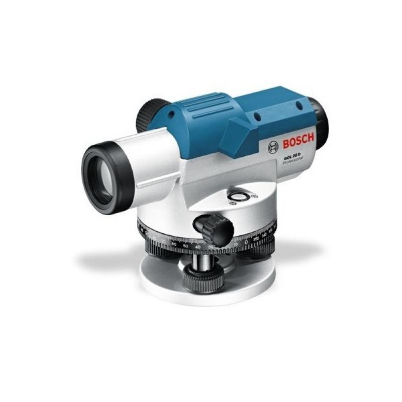 Máy đo khoảng cách quang học Bosch GOL26D (Xanh)