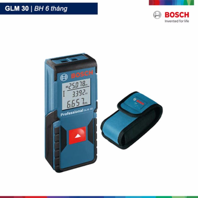 Máy đo khoảng cách tia Laser Bosch GLM 30 tặng túi vải