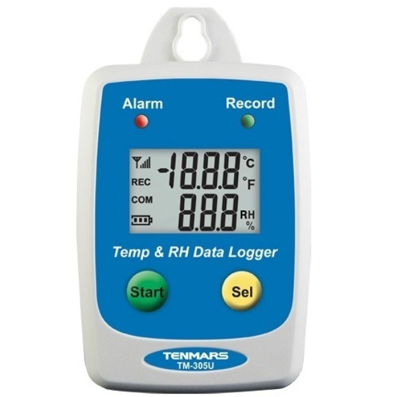 Máy đo và lưu nhiệt độ và độ ẩm Tenmars TM-305U