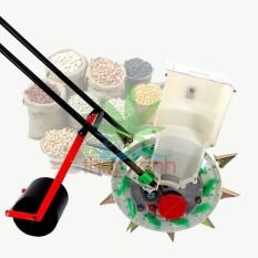 Máy gieo hạt tự động, bánh lăn (6 răng, rộng 26cm), Ngô, Đậu, Bông, Lạc…