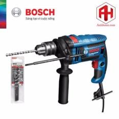 Máy Khoan Bosch GSB 16 RE tặng kèm 3 mũi khoan tường (5×85, 6×100, 8×120)