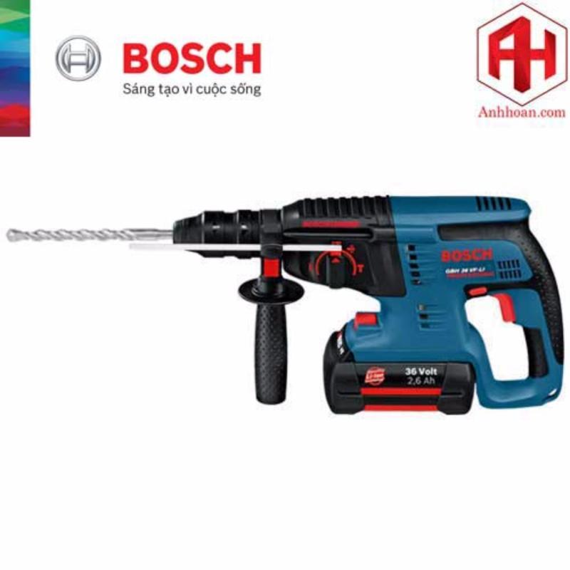Máy khoan búa dùng pin Bosch GBH 36V-LI (36V, 4A)