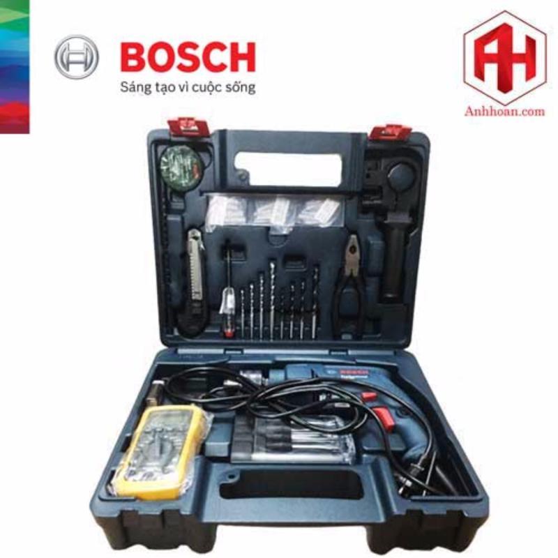 Máy khoan động lực Bosch GSB 550 và bộ phụ kiện 80 món Electrician