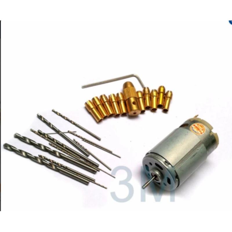 Máy khoan mini đa năng từ động cơ 335 ( tặng bộ 10 đầu kẹp mũi khoan và 10 mũi khoan 0.6-1.0-1.5-2.0-3.0 mỗi loại 2 chiếc )