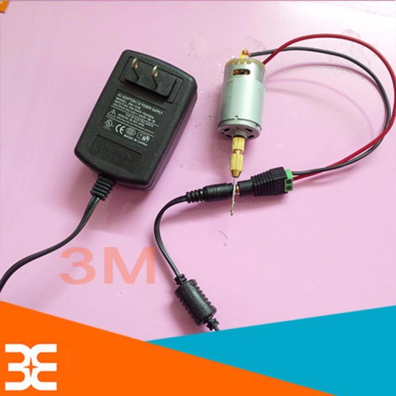 Máy khoan mini đa năng từ động cơ 335 V2 ( tặng bộ nguồn 12v-2a, 01Jacj nối nguồn cái, 10 đầu kẹp mũi khoan và 10 mũi khoan 0.6-1.0-1.5-2.0-3.0 mỗi loại 2 chiếc )