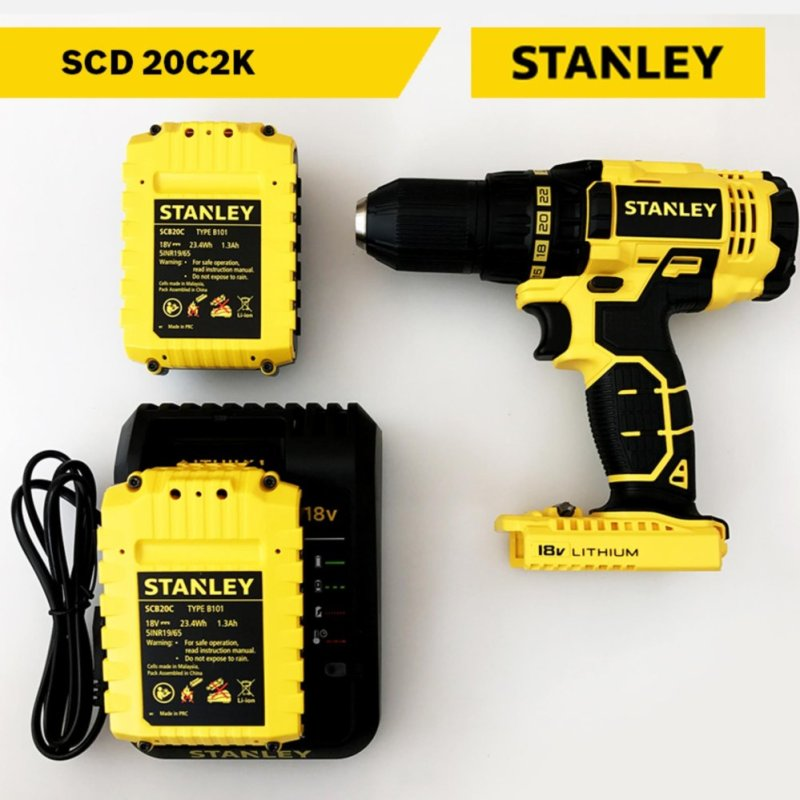 Máy  khoan pin Stanley Model SCD 20C2