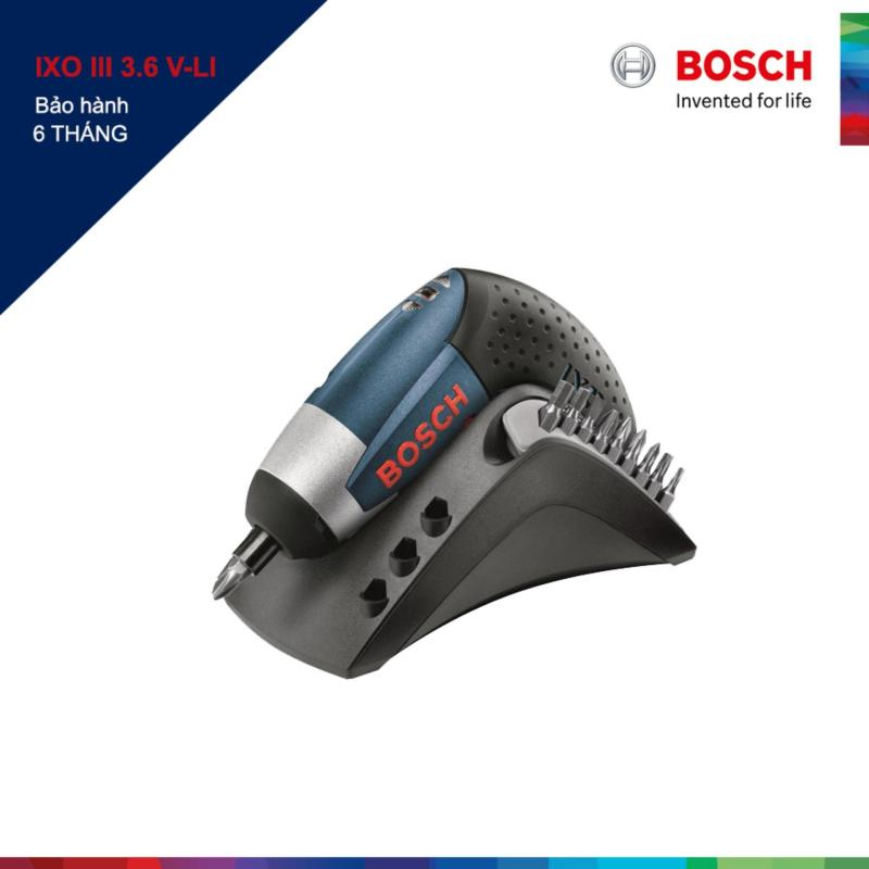 Máy khoan vặn vít Bosch IXO III 3.6 V-LI (Đen)