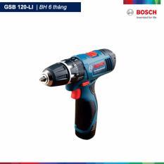Máy khoan vặn vít động lực dùng pin GSB 120 LI (Xanh)