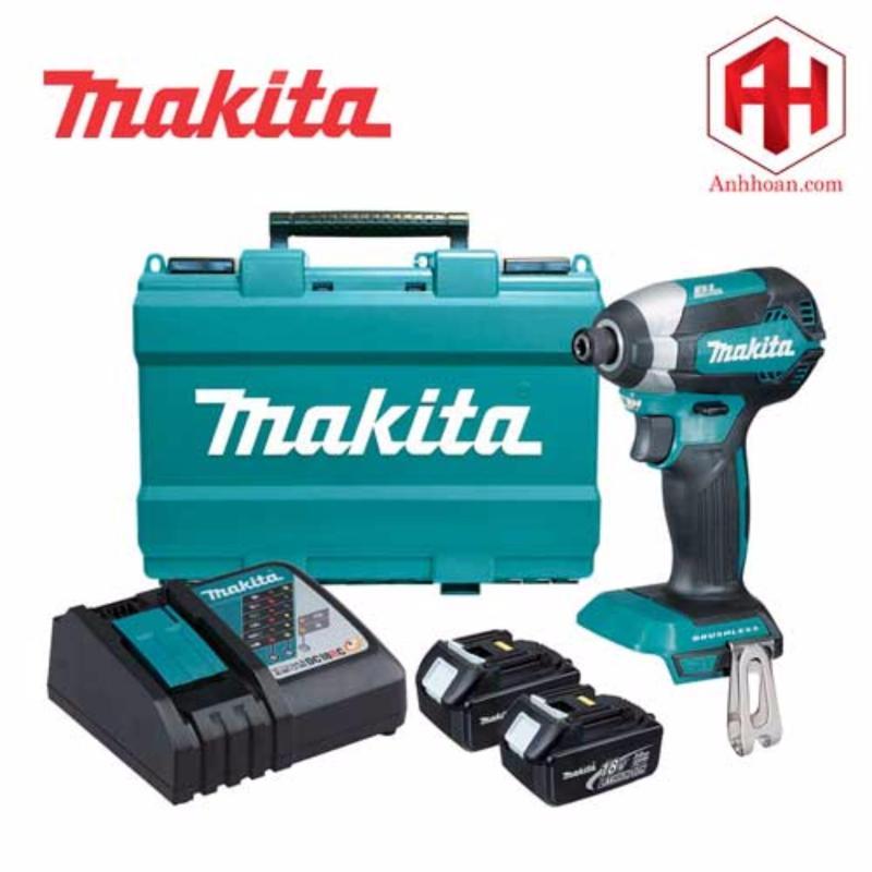 Máy khoan vặn vít dùng pin Makita 18V DTD153RFE (không chổi than)
