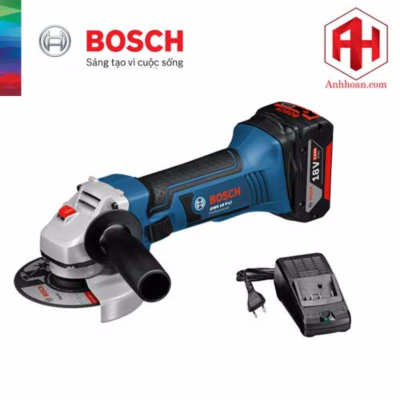 Máy mài góc Bosch dùng pin GWS 18 V-LI