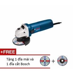 Máy mài góc Bosch GWS 060 Professional (Xanh) + Tặng 1 đĩa mài và 1 đĩa cắt