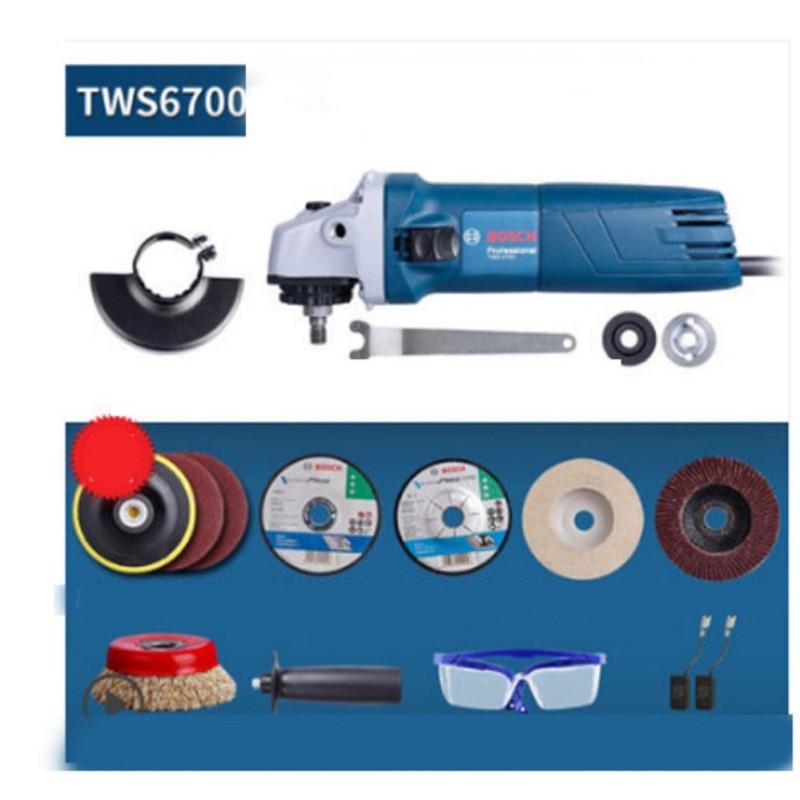 Máy mài góc Bosch TWS6700 - tặng bộ đĩa cắt, bộ mài