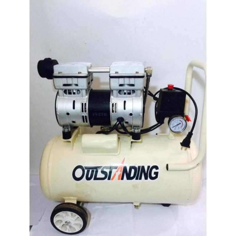 Máy nén khí không dầu giảm âm 30L 550W Outstangding