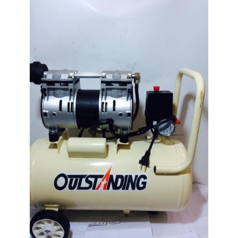 Máy nén khí không dầu giảm âm 30L 800W Outstangding