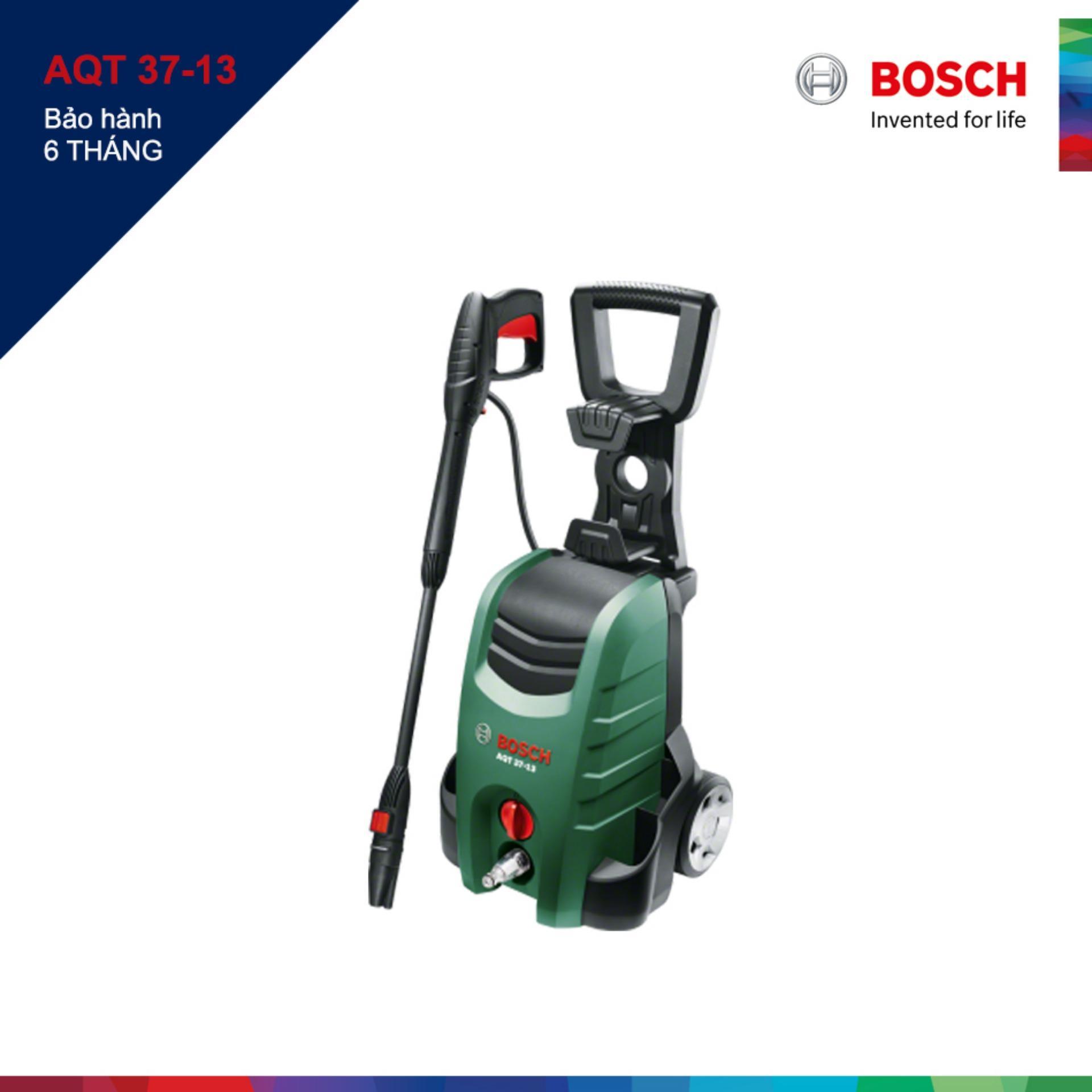 Máy phun xịt rửa cao cấp Bosch AQT 37-13 (Xanh phối đen)