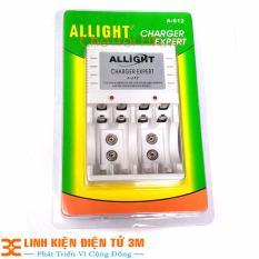 Máy Sạc Pin Allight A-612 Sạc Pin AA, AAA, Pin 9V Chất Lượng Cao- Sạc Rất Nhanh