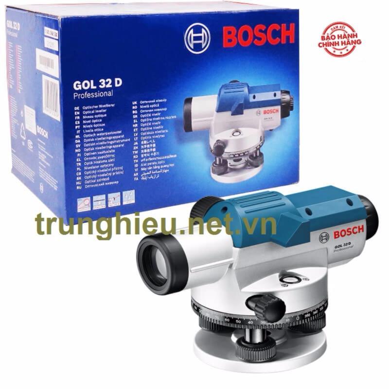 Máy thủy bình Bosch GOL 32D + BT 160 + GR 500