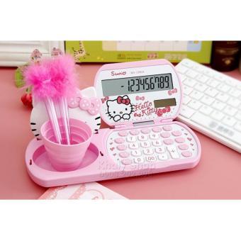 Máy tính năng lượng mặt trời để bàn kèm ly đưng bút và gương hình mèo Hello Kitty Hồng dành cho học sinh và các bé (23X2.5X9) - 240KTXD1106A - 8511805 , OE680HLAA4RUZ8VNAMZ-8789700 , 224_OE680HLAA4RUZ8VNAMZ-8789700 , 195000 , May-tinh-nang-luong-mat-troi-de-ban-kem-ly-dung-but-va-guong-hinh-meo-Hello-Kitty-Hong-danh-cho-hoc-sinh-va-cac-be-23X2.5X9-240KTXD1106A-224_OE680HLAA4RUZ8VNAMZ-8789700 , l