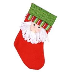 Trung bình Kẹo Giáng Sinh Tặng Tất Túi Quà Giáng Cây Treo Trang Trí Nhà Cửa, trang Trí (Nhiều Màu)-Ông Già Noel-quốc tế