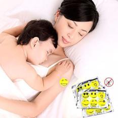 Miếng dán chống muỗi hình mặt cười (60 miếng)