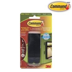 Miếng dán treo tranh 7.2kg Command™, màu đen, vỉ 8 miếng