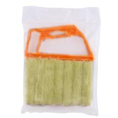 Mini Microfibre Venetian Blind Brush Window Air Conditioner Dusterdirt Clean Cleaner - intl