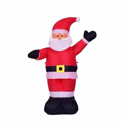 Ở đâu bán Mô hình ông già Noel bơm hơi cao 1.2m (Đỏ)