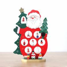 Bảng Giá Mô hình ông già Noel gỗ (Đỏ)