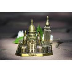 Mô hình trang trí bằng kim loại chủ đề kỳ quan thế giới – Vương Cung Thánh Đường Sacré-Cœur – Pháp