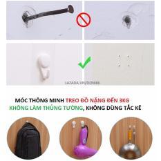 Móc thông minh treo đồ không cần khoan tường