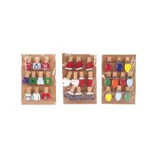Cập Nhật Giá Móc trang trí giáng sinh 10 cái 3 mẫu UBL XB1095