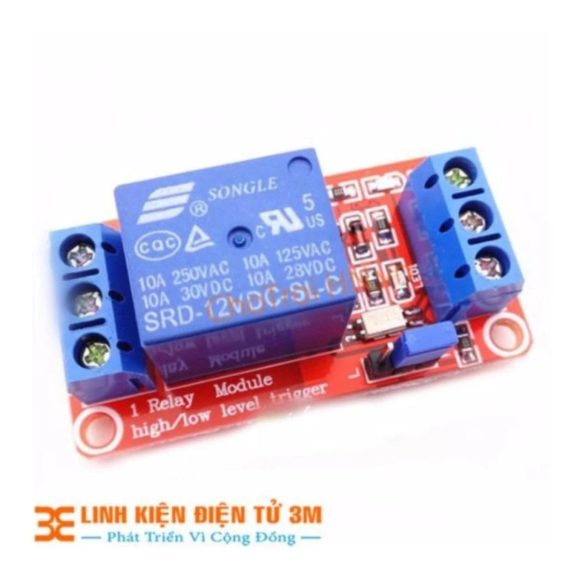 Bảng giá MODULE Relay 12VDC 1 Kênh H/L