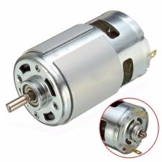 Motor 775 loại đặc biệt có bạc đạn và quạt tản nhiệt, trục vát chữ D, 12~24V, chế khoan điện đa năng cực mạnh (MO131 HN, TP, MN) – Luân Air Models