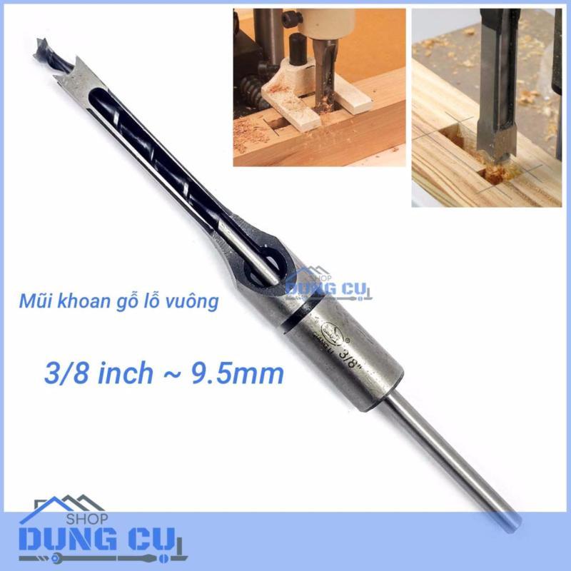 Mũi khoan gỗ đục mộng vuông 3/8inch(9.5mm)