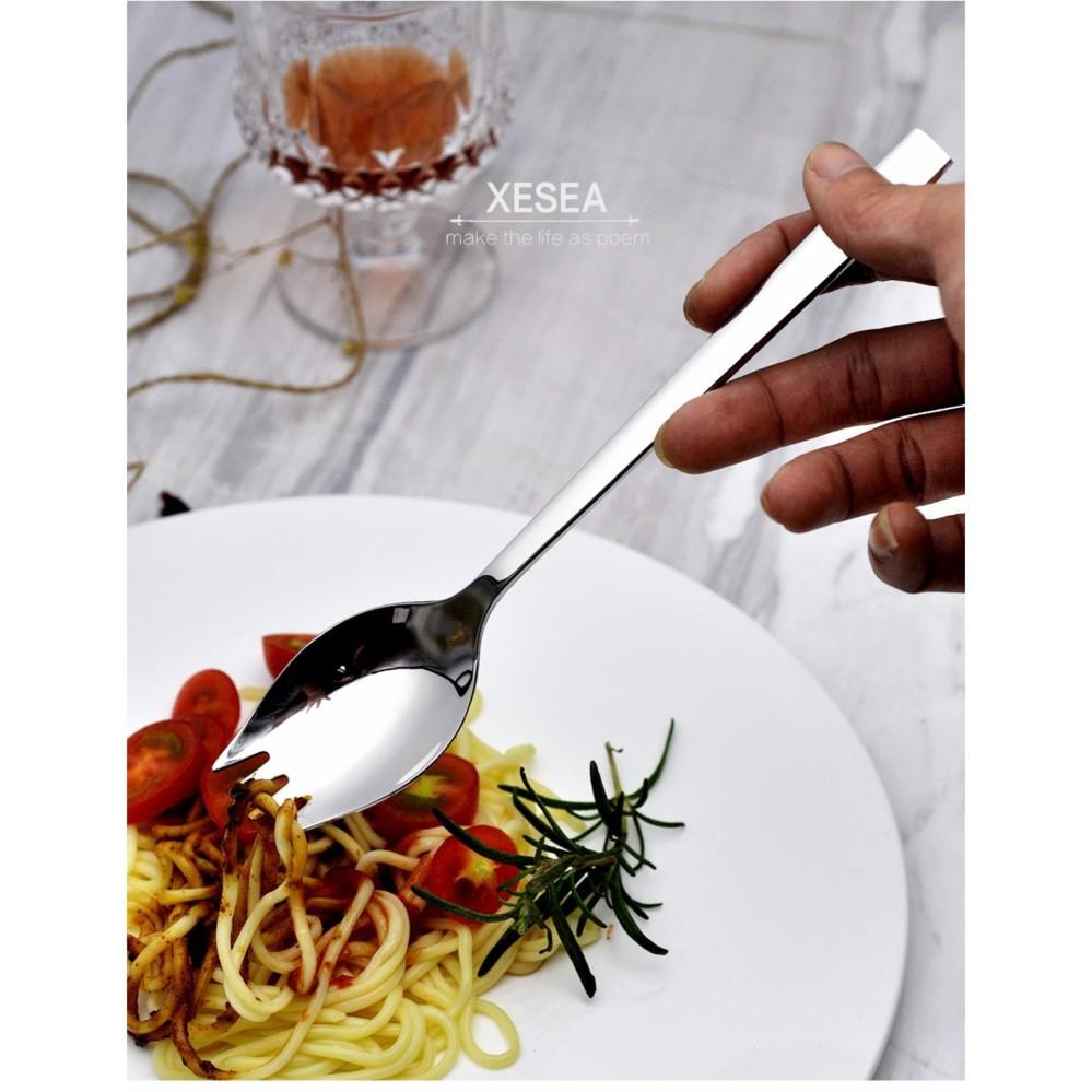 Muỗng ăn mì đa năng inox 304 – Xesea – 20.8x4cm 56g